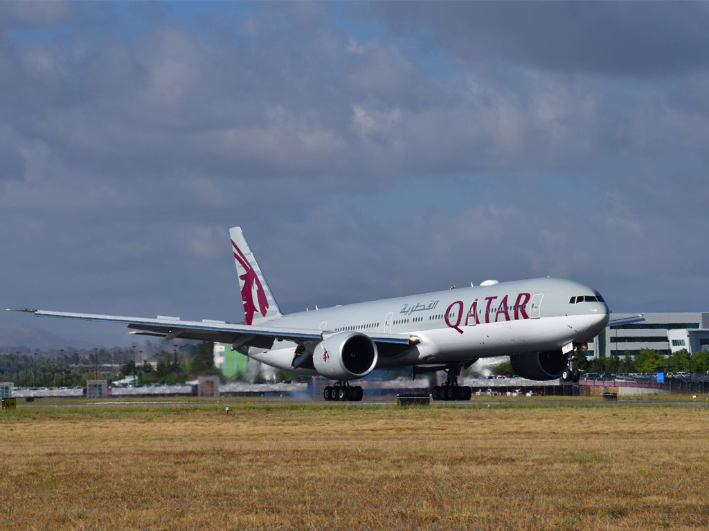 Qatar Airways began a daily service to Canberra on 12 February, 2018.