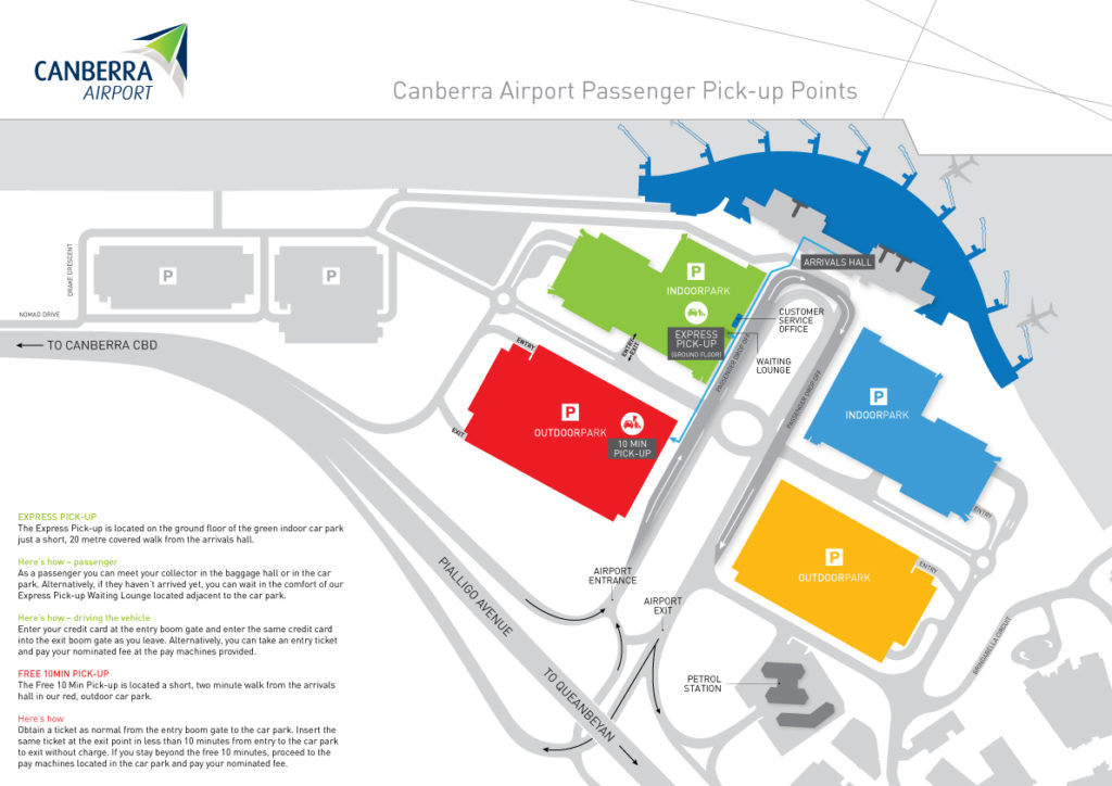 Parking Rates Canberra Airport