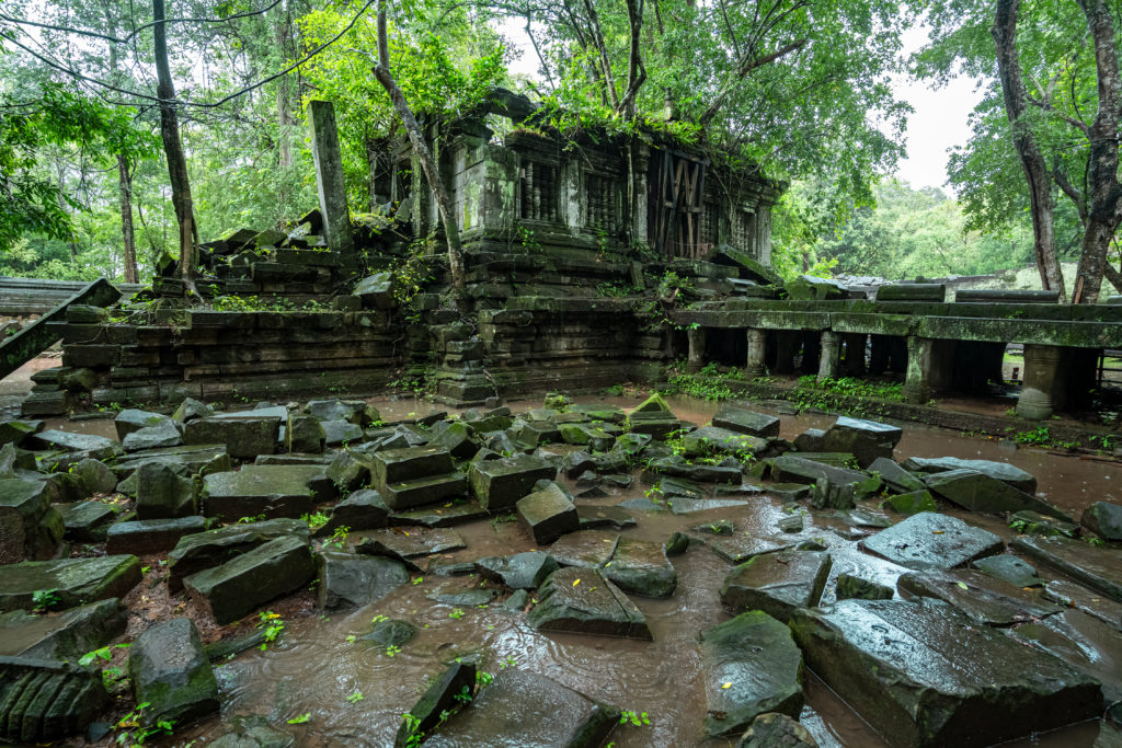 4. EXPLORING THE ULTIMATE JUNGLE TEMPLE - SNEAKERS A MUST (CAMBODIA)