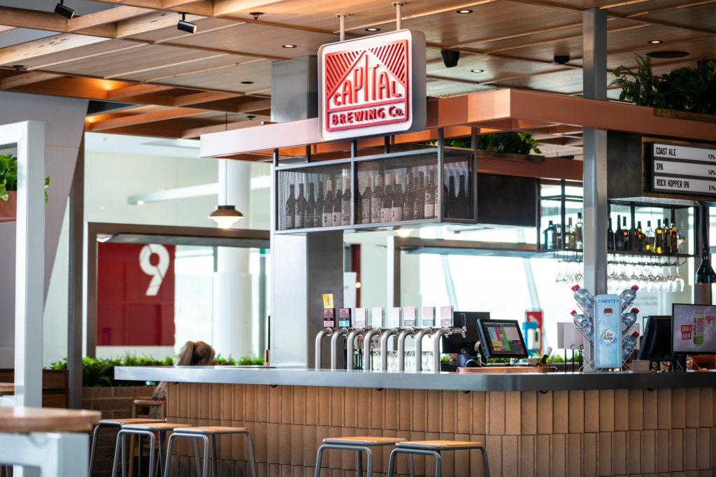 Capital Brewing opens at Canberra Airport